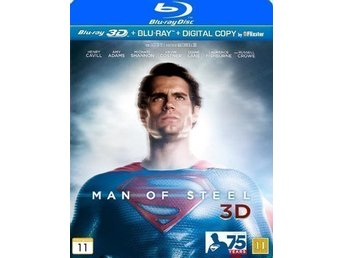 Man of steel (Blu-ray 3D + Blu-ray) i NYSKICK
