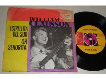 William Clauson 45/PS Estrellita del sur 1964 VG - Farsta - William Clauson 45/PS Estrellita del sur 1964 VG - Farsta