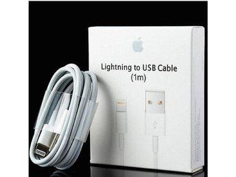 1m iPhone Laddara USB Kabel Kablar Cable til iPhone 5/5s/6s/6+/7/7 - Fagersta - 1m iPhone Laddara USB Kabel Kablar Cable til iPhone 5/5s/6s/6+/7/7 - Fagersta