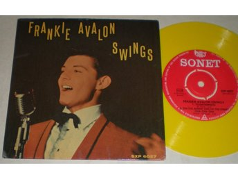 Frankie Avalon EP/PS Swings 1960
