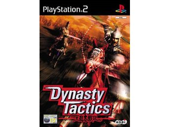Dynasty Tactics - Playstation 2 PS2 INPLASTAD