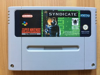 Syndicate - Snes