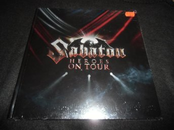 Sabaton - Heroes on tour - 2Blu-ray/DVD+CD Box - 2016