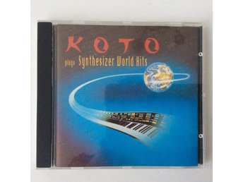 KOTO - plays Synthesizer Word Hits- svårhittad  CD