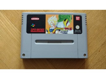 Super Nintendo/SNES: Dragonball Z: Super Butouden (fransk text)