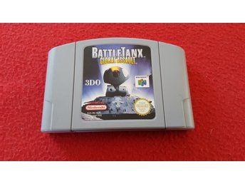 BATTLETANX GLOBAL ASSAULT till Nintendo 64 N64