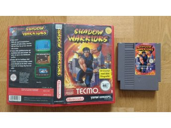 Nintendo 8-bit/NES: Shadow Warriors Ninja Gaiden (SCN-Yapon)