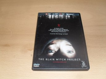 Dvd-film: The blair witch project (Heather Donahue, Joshua Leonard)