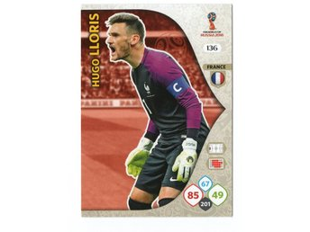 2018 Panini Adrenalyn XL FIFA World Cup Russia Hugo Lloris