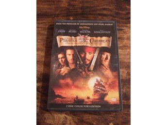 Pirates Of The Caribbean / Johnny Depp / Orlando Bloom / Geoffrey Rush / DVD