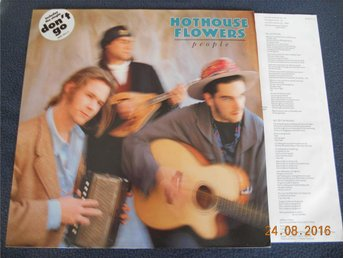 HOTHOUSE FLOWERS - People, LP London, Tyskland 1988