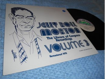 Jelly Roll Morton Volume 3 (LP) NM/EX