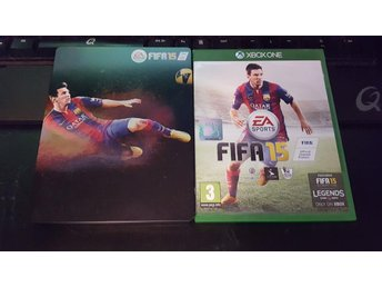 Fifa 15 Xbox one inkl Steelbook fodral