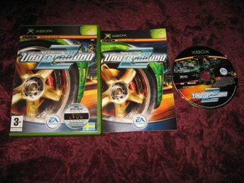NEED FOR SPEED UNDERGROUND 2 XBOX (SVENSK TEXT OCH MANUAL) RETRO