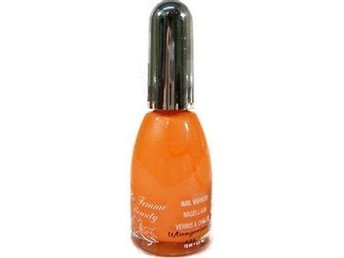 La Femme UV Reactive Neon Bright Nail Polish-Ultra Tangerine
