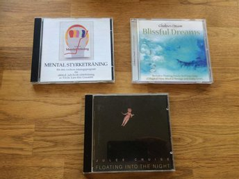 3 CD = CHAKRAS DREAM - BLISSFUL DREAMS + FLOATING INTO THE NIGHT + MENTAL STYRKE