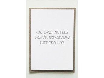 Grattiskort till giftermål! Roligt bröllopskort till blivande brud eller brudgum - Västerås - Grattiskort till giftermål! Roligt bröllopskort till blivande brud eller brudgum - Västerås