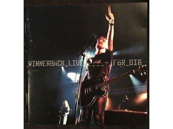 Lars Winnerbäck Live för dig 2001 CD - Jönköping - Lars Winnerbäck Live för dig 2001 CD - Jönköping