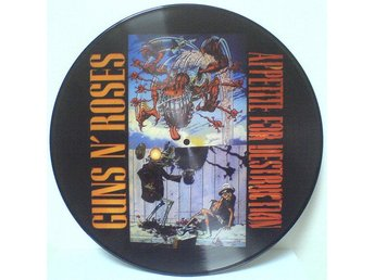 Bild LP Guns N Roses - Appetite For Destruction