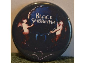 Black Sabbath - badge/pin/knapp - 25mm