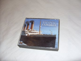 James Camerons Titanic Explorer PC & Mac Multimedia Retro CD ROM 1997