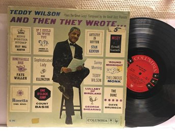 TEDDY WILSON - AND THEN THEY WROTE...- PROMO