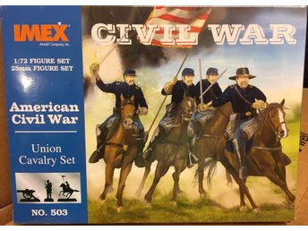 UNION CAVALRY SET     AMERICAN CIVIL WAR     IMEX  1/72 Byggsats