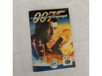 James Bond The World Is Not Enough manual - NES Nintendo 64