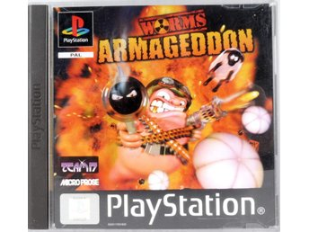 Worms Armageddon - PS1 - PAL (EU)