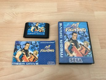 Art of Fighting CIB - Sega Mega Drive