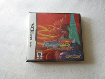 Mega Man Zero Collection DS spel innehållande Megaman Zero 1-4 ~ NYTT/Inplastat