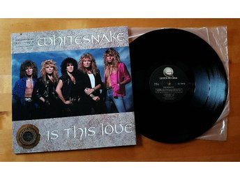 "WHITESNAKE  -  Is This Love      12"" Maxi    US"