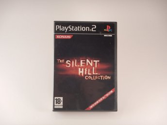Mycket fin --  The Silent Hill Collection Limited  -- Playstation 2 / Ps2 -- PAL