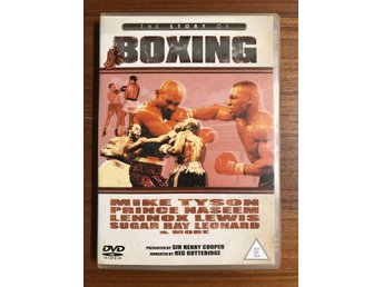 The story of boxing (Mike Tyson,Prince Naseem mfl..) DVD