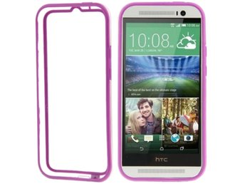 HTC One M8 TPU Bumper Lila