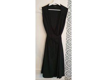 Samsoe Samsoe klänning randig omlottklänning om.. (407765266