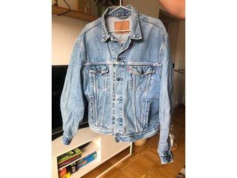 Levis vintage jeansjacka XL (410691125) ᐈ Köp på Tradera