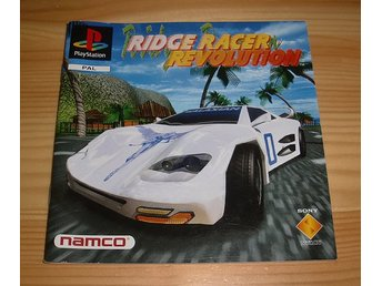 Manual PS: Ridge Racer Revolution