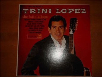 TRINI LOPEZ - THE LATIN ALBUM LP