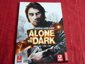 ALONE IN THE DARK,  GAME GUIDE,  BOK, BÖCKER