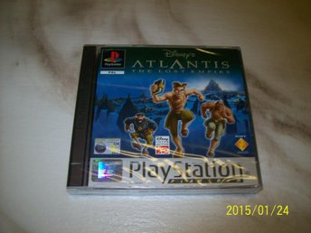 DISNEY`S ATLANTIS THE LOST EMPIRE - NYTT INPLASTAD (PS 1)