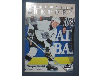 "1995-96 Wayne Gretzky Scouting Report ""Electric Ice"" Upper Deck - Tingsryd - 1995-96 Wayne Gretzky Scouting Report ""Electric Ice"" Upper Deck - Tingsryd"