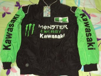 Helt ny! Racing rally jacka Kawasaki Monster M, L, XL, XXL