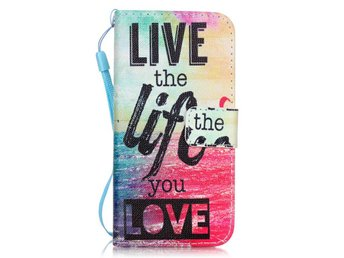 Plånboksfodral till iPhone 7 - Life the Life You Love