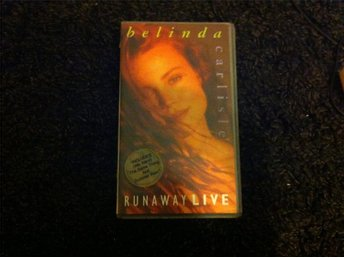 BELINDA CARLISLE - RUNAWAY LIVE(VHS) - Umeå - BELINDA CARLISLE - RUNAWAY LIVE(VHS) - Umeå