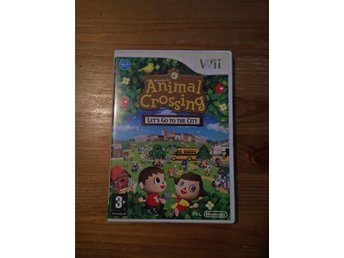 Animal Crossing Lets Go To The City, Wii PAL