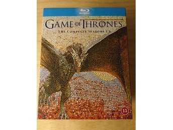 Game of Thrones - Complete Seasons 1-6 - Bluray