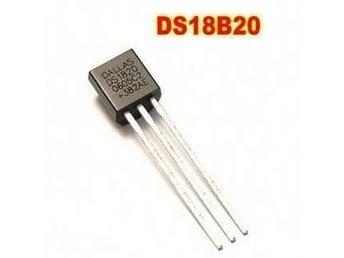 Temp Givare DS1820 1-Wire - Mellansel - Temp Givare DS1820 1-Wire - Mellansel