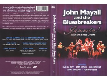 MAYALL, JOHN & THE BLUESBREAKERS Jammin' with the Blues Greats (DVD)