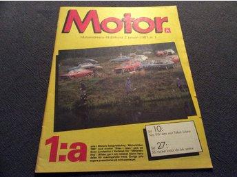 Motor Nr 1 1981 VW jetta mot Talbot Solara, - Filipstad - Motor Nr 1 1981 VW jetta mot Talbot Solara, - Filipstad